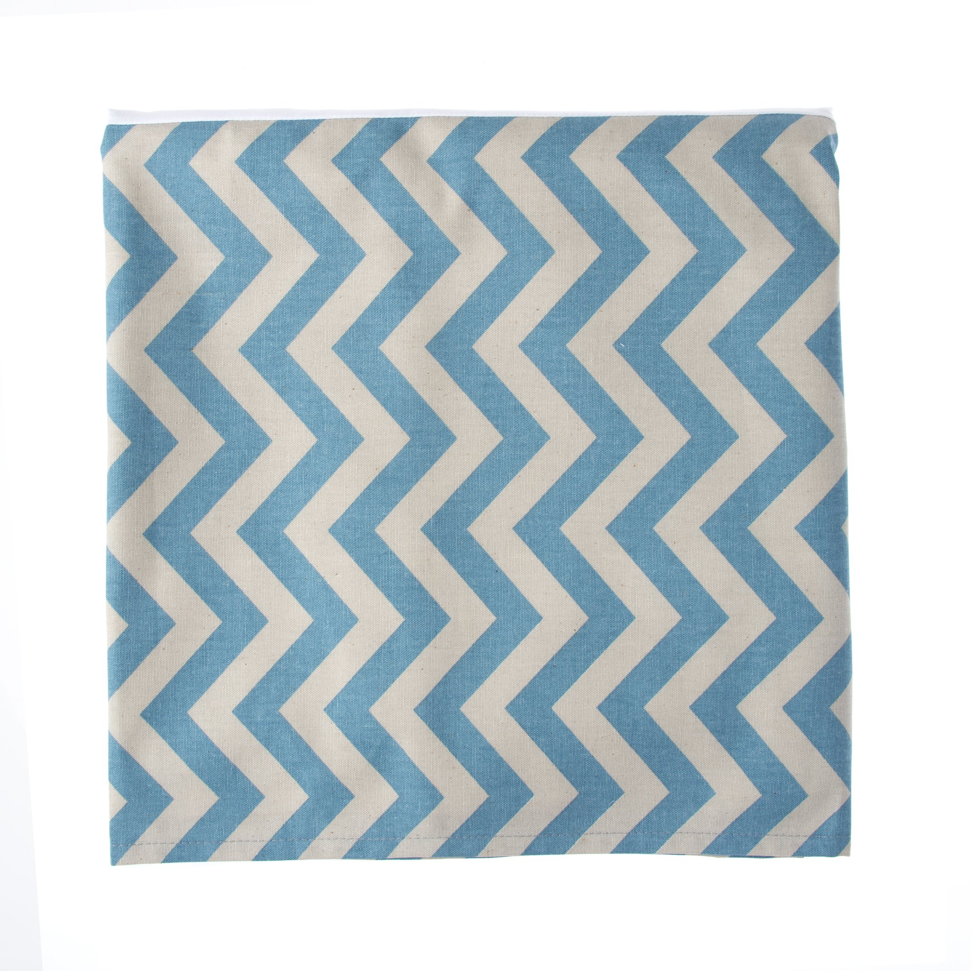 Glenna Jean North Country Full Skirt, Blue/Grey Chevron