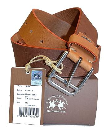 La Martina - Ceinture - Homme marron marron X-Large  Amazon.fr ... f62952a62cb