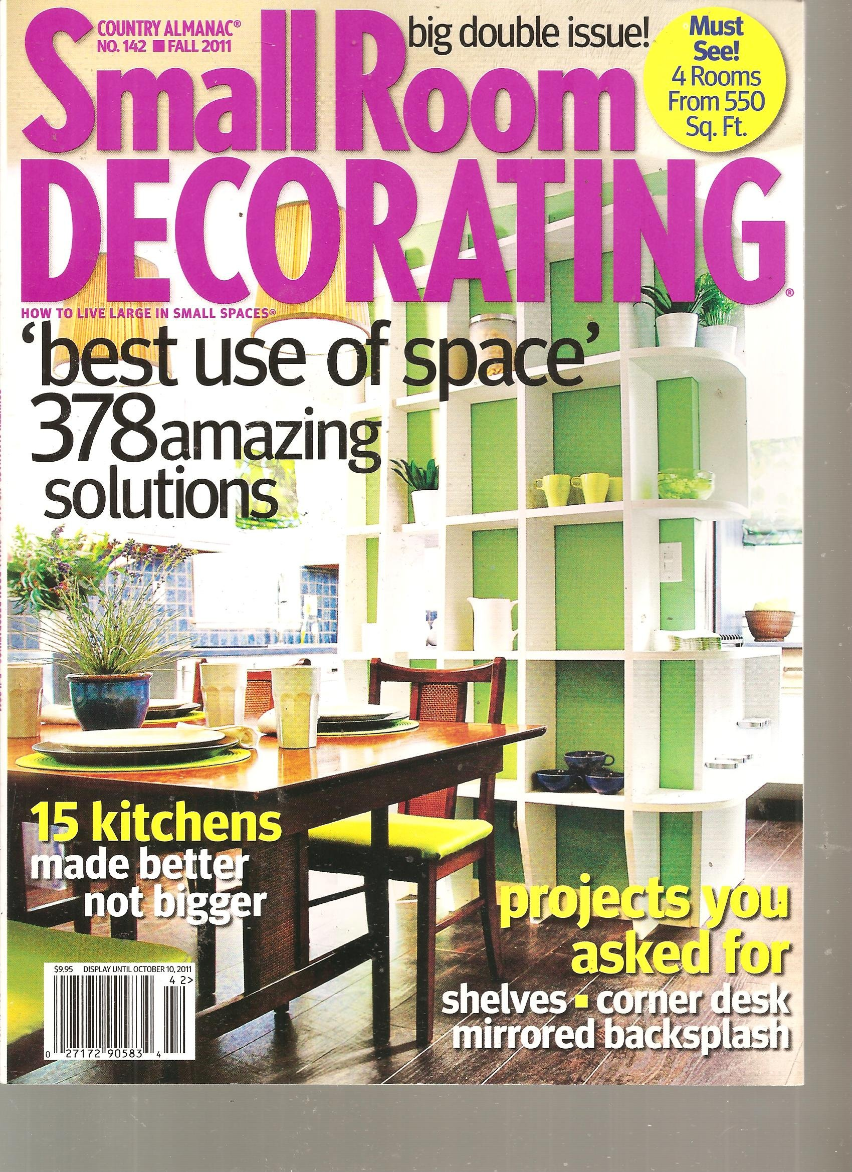 Country Almanac Small Room Decorating Magazine (Best Use of ...