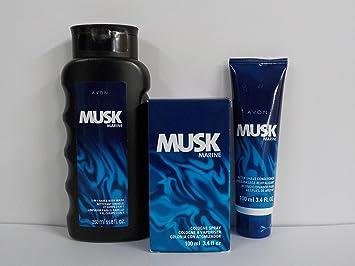 Avon Musk Marine 3 piece set