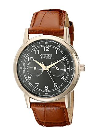 c21c0b95b Amazon.com: Citizen Men's Eco-Drive Rose-Gold Stainless Steel Watch ...