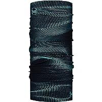 Buff Tubular Multifuncional Glow Waves Black Bandana Bufanda