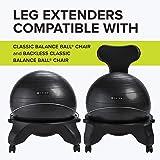 Gaiam Classic Balance Ball Chair Leg Extenders