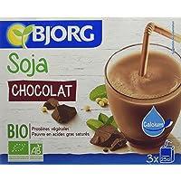 Bjorg Mini Boisson Soja Chocolat Calcium Biologique 3 x 25 cl