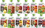 Sprout Organic Baby Food Pouches Stage 2, 12 Flavor Organic Variety