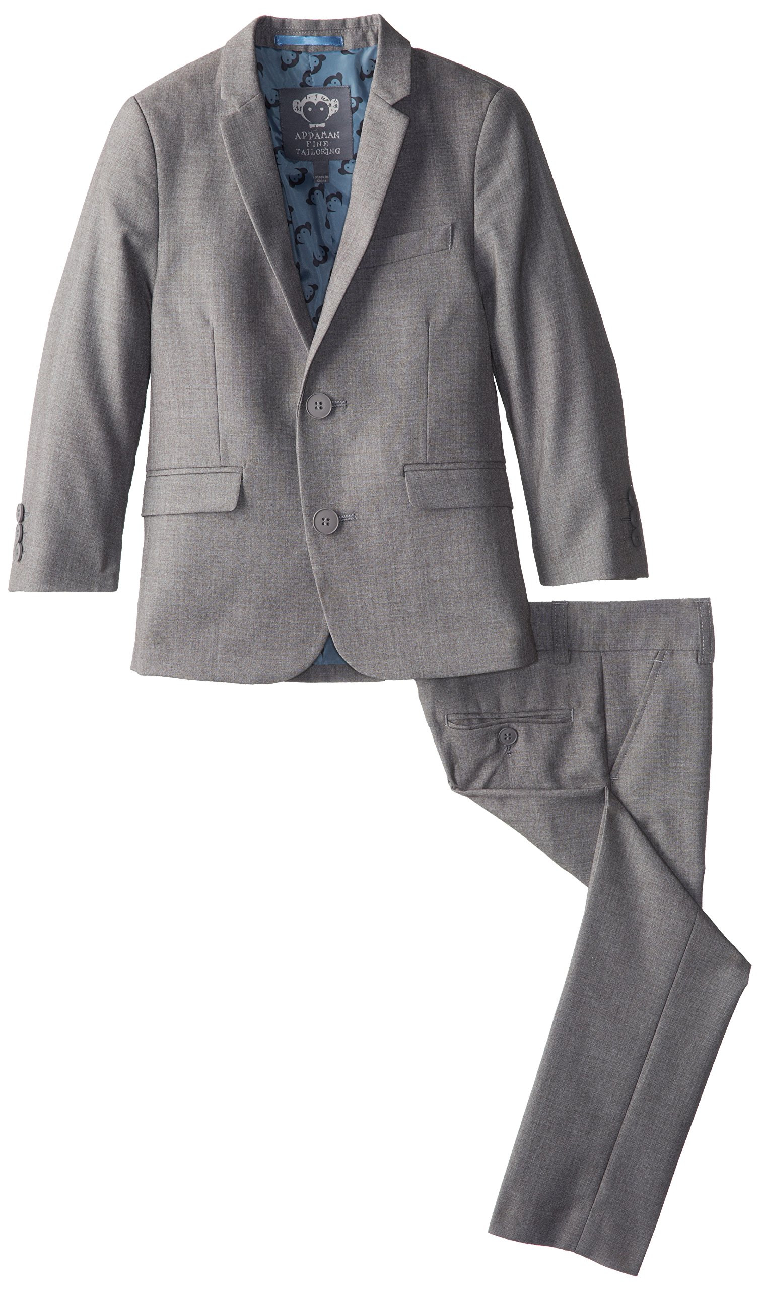 Appaman Little Boys' 2 Piece Classic Mod Suit, Mist, 5
