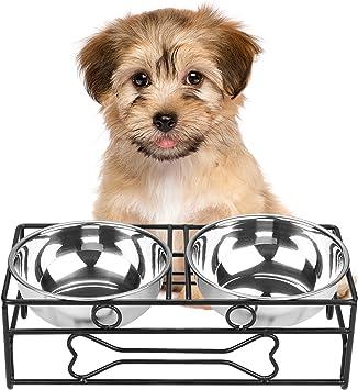 Viviko Bone Style Pet Feeder For Dog