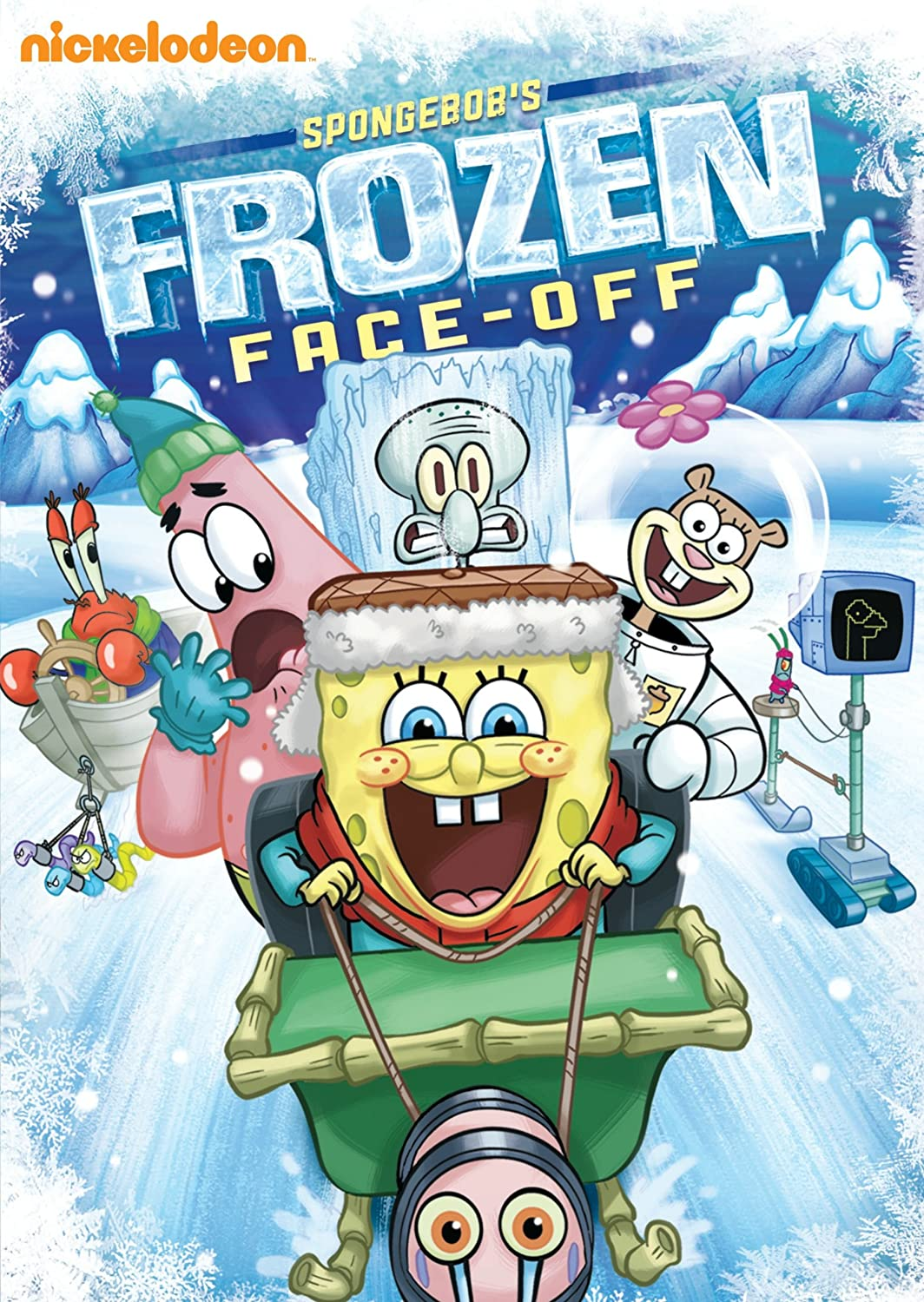 amazon com spongebob squarepants spongebob u0027s frozen face off