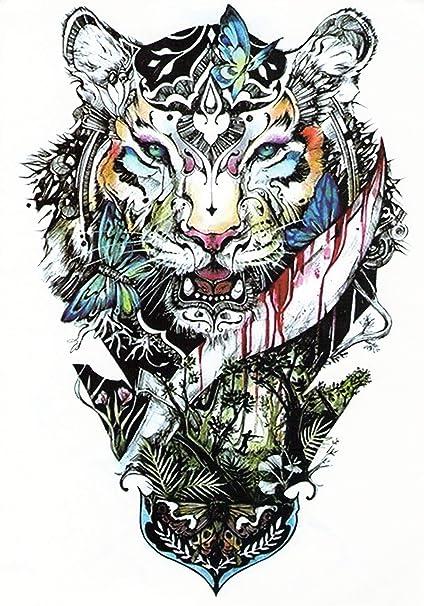 Tatuajes temporales Tempo rary Tattoo Fake Tattoo – De Tigre ...