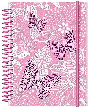 Letts Butterfly A6 17/18, Agenda Escolar para la Semana.