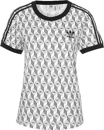 adidas Damen Unterhemd 3 Stripes Tee