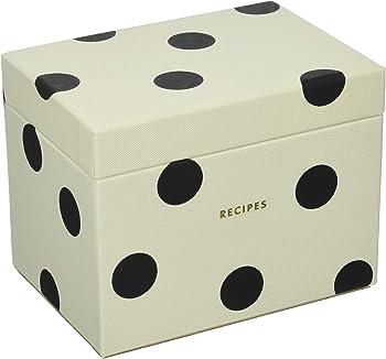 Kate Spade New York Deco Dot Recipe Box