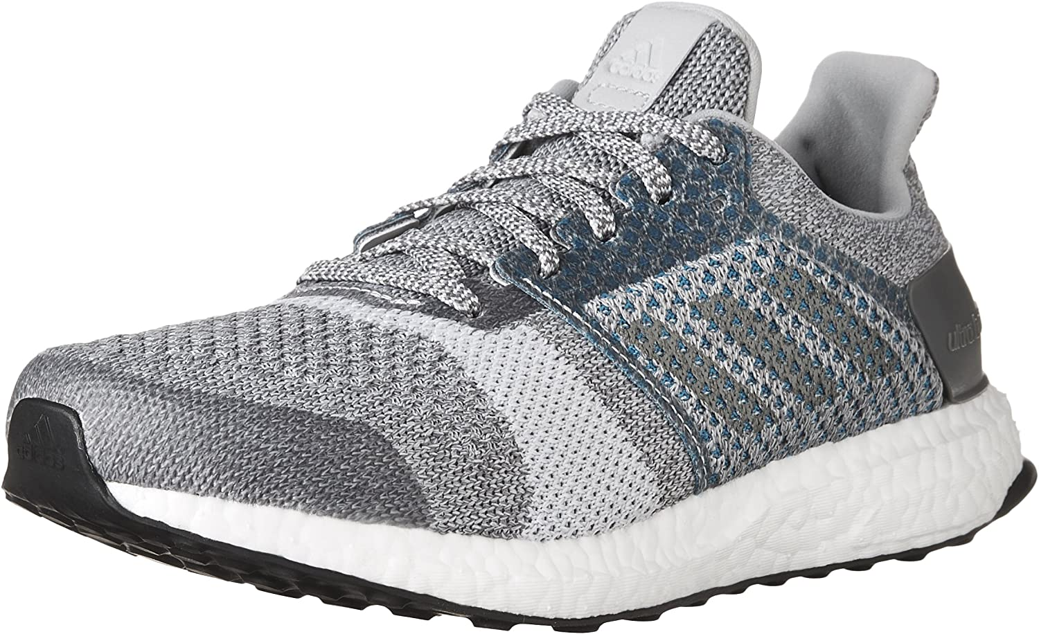 adidas Women s Ultra Boost ST, Grey Silver, 10 B