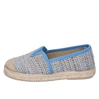 d9b791e963558 CIENTA Espadrilles bébé garçon Textile Bleu  Amazon.fr  Chaussures ...