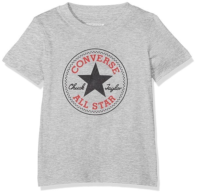 ca12f387272c Converse Baby Boys  Chuck Patch Tee T-Shirt  Amazon.co.uk  Clothing