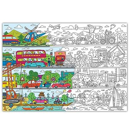 Amazon.com: colorings para niños autopark. páginas para ...