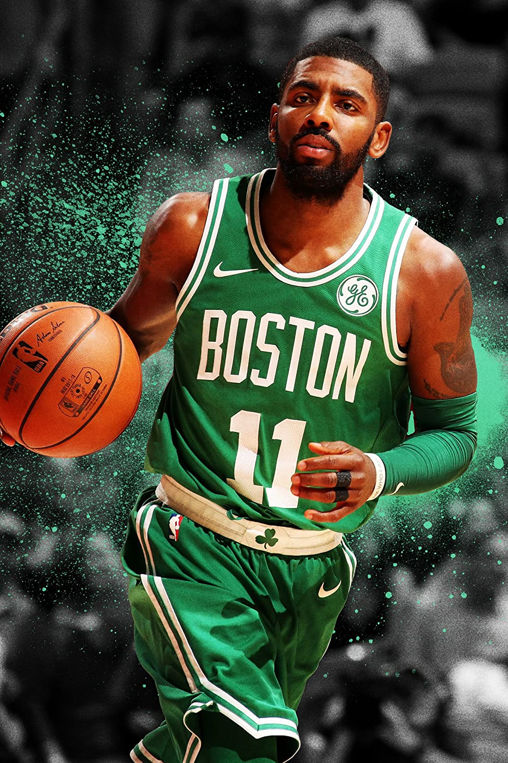 Amazon.com: Kyrie Irving Boston Celtics Basketball Limited Print Photo  Poster Size 16x20: Posters & Prints