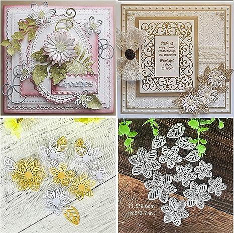 Flowers Metal Cutting Dies Stencil DIY Card Making Scrapbooking Embossing Paper