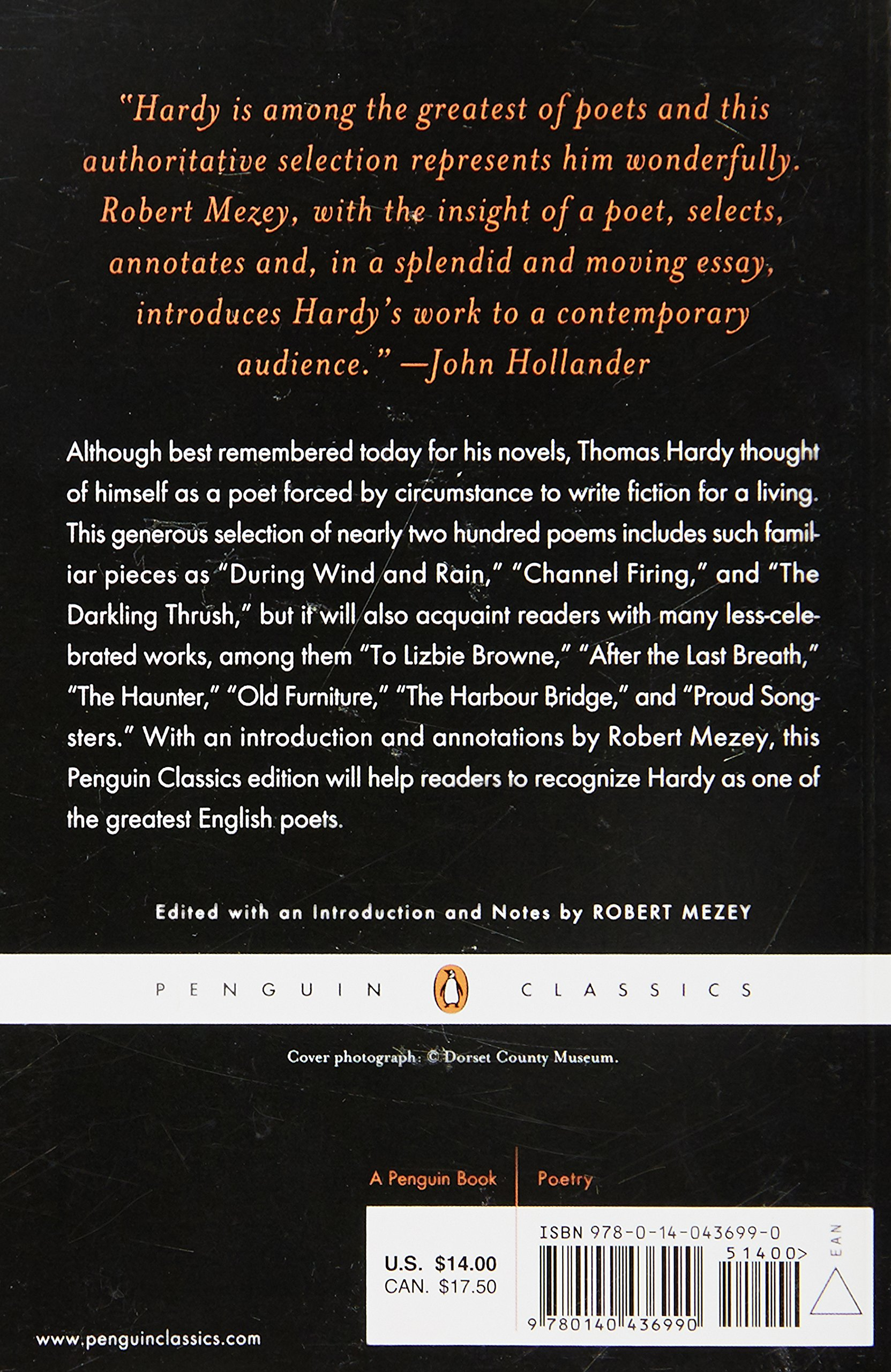 selected poems penguin classics thomas hardy robert mezey selected poems penguin classics thomas hardy robert mezey 9780140436990 amazon com books