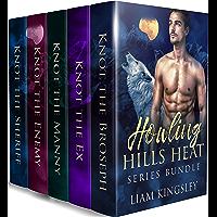 Howling Hills Heat: A Wolf Shifter Mpreg Romance Bundle (English Edition)