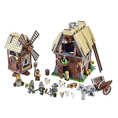 LEGO Castle Mill Village Raid 7189: Toys & Games