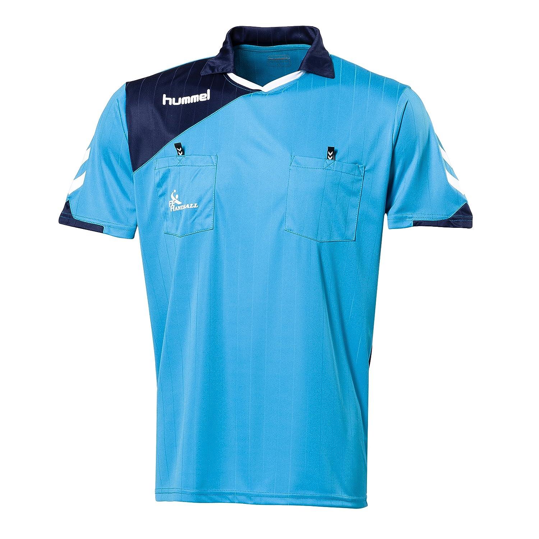 Hummel FFHB Elite-Camiseta de árbitro 15/16 bleu ciel/marine Talla ...