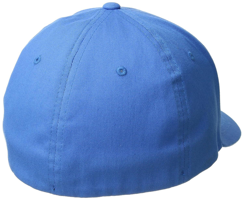 buy online d5e7b 342be Fox Men s Traded Flexfit Baseball Cap, Acid Blue, L X-L  Amazon.co.uk   Clothing