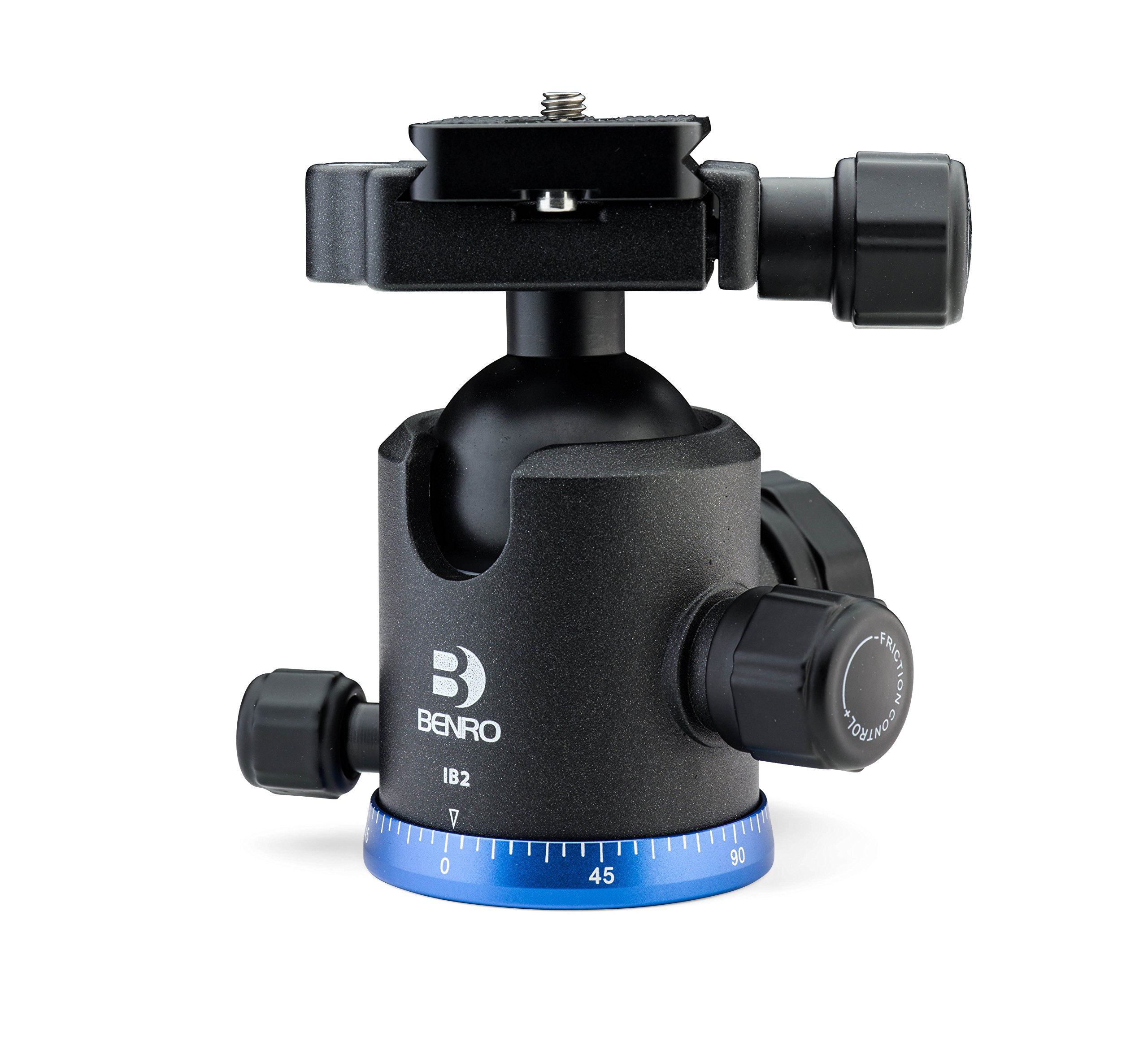 Benro Triple Action Ball Head w/ PU60 Quick Release Plate (IB2) by Benro