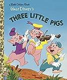 The Three Little Pigs (Disney Classic) (Little Golden Books)
