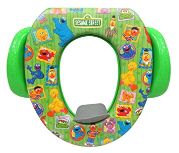 867d10071f5 Image Unavailable. Image not available for. Color  Sesame Street   quot Framed Friends quot  Soft Potty Seat