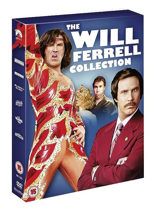 Will Ferrell Collection 6 Dvd Edizione: Regno Unito Reino Unido