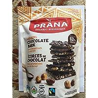 PRANA Organic Carazel Dark Chocolate Bark 412g, 412 Grams