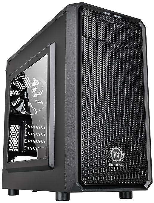 47 opinioni per Thermaltake Versa H15 Case per PC Mini, con Finestrino, Nero