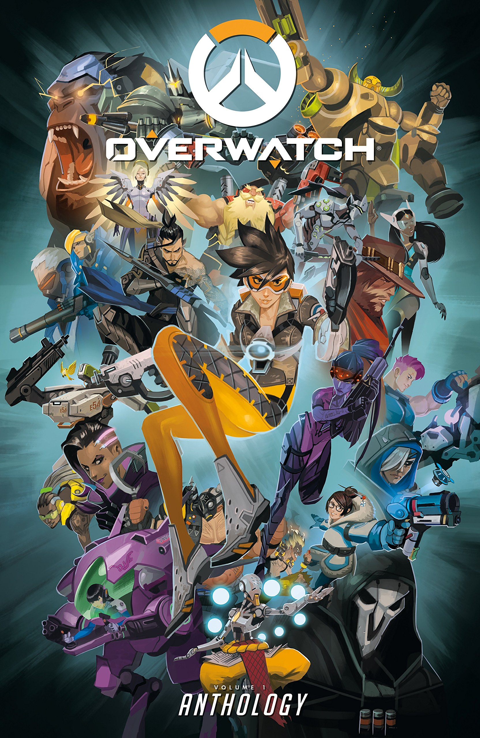 Amazon Com Overwatch Anthology Volume 1 9781506705408 Blizzard Entertainment Burns Matt Brooks Roberts Robinson Andrew Neilson Micky Books