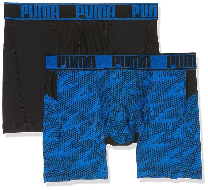 Puma Active Cellar Camo Print Boxer 2P Packed, Ropa Interior de Deporte para Hombre,