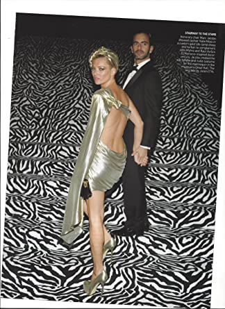 32f7007502 Amazon.com  Magazine Photo With Kate Moss   Marc Jacobs On Stairs   Entertainment Collectibles