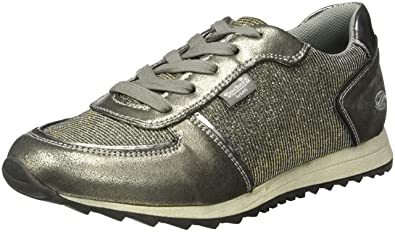 Dockers 38ML202-687550, Baskets Basses Femme, (Silber), 38 EU