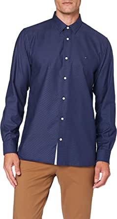 Tommy Hilfiger Flex Two Tone Dobby Shirt Camisa para Hombre
