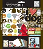 me & my BIG ideas mambiKIT Scrapbook Page Kit, I Love My Dog, 8-Inch by 8-Inch