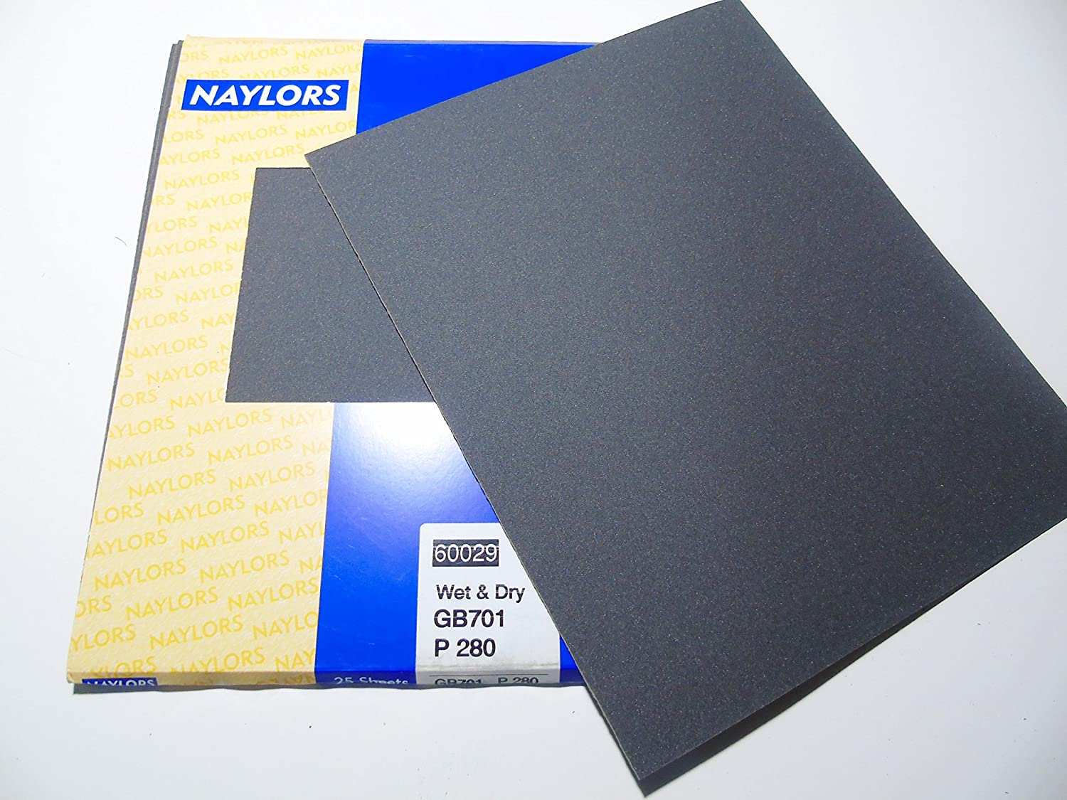10X SANDING SHEETS Wet//Dry Silicon Carbide Waterproof Sandpaper Grits 230*280mm