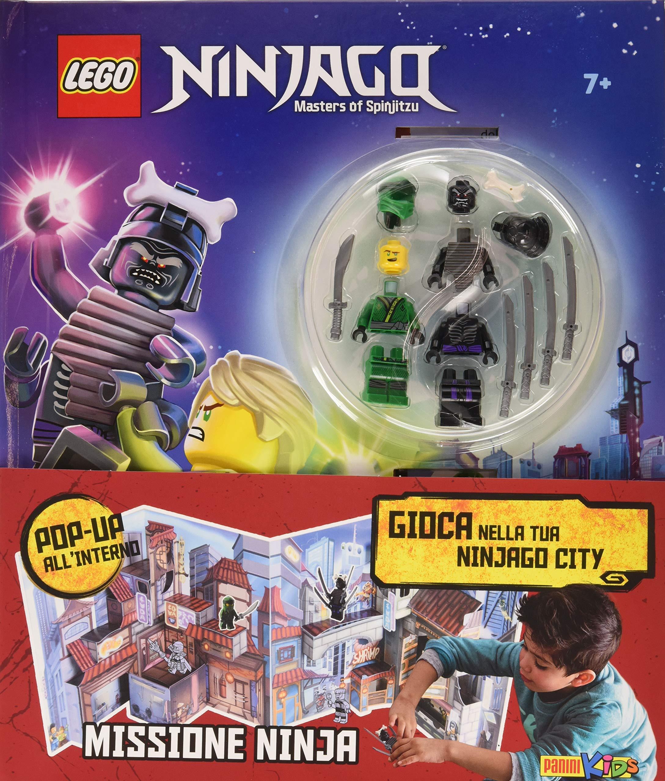 Missione Ninja. Lego Ninjago. Con gadget Panini kids: Amazon ...