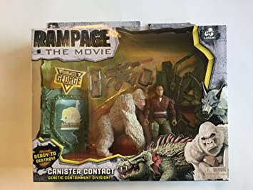 Rampage The Movie Subject George Playset Amazon Co Uk Toys Games