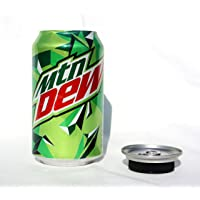 SODA CAN 12oz DIVERSION SAFE STASH SECRET HIDDEN STORAGE (MOUNTAIN DEW)