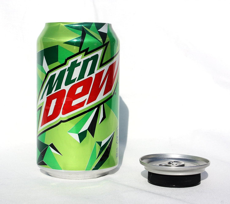 炭酸飲料缶 12oz 転用 隠し金庫 秘密の隠しストレージ B01LOLTCAW  MOUNTAIN DEW