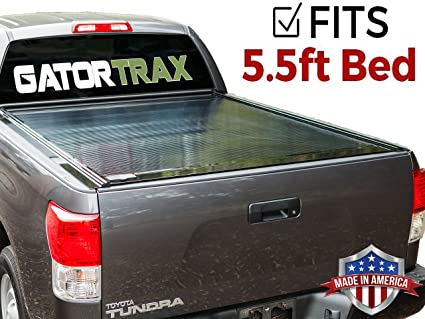 Toyota Tundra Bed Cover >> Gatortrax Retractable Fits 2004 2015 Nissan Titan 5 5 Foot Bed Only Gloss Truck Bed Tonneau Cover G10741 Made In The Usa