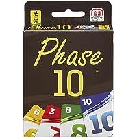 Mattel Games FPW38 Phase 10 Kartenspiel, geeignet für 2 - 6 Spieler, Spieldauer ca. 60 - 90 Minuten, ab 7 Jahren