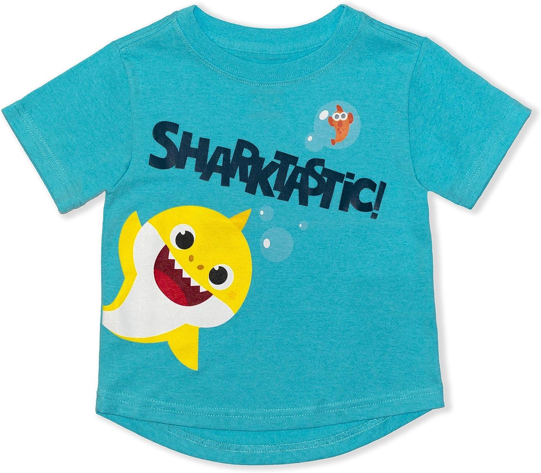 Nickelodeon Boy's Baby Shark Tee