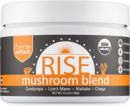 Herb Affair Mushroom Powder Supplement