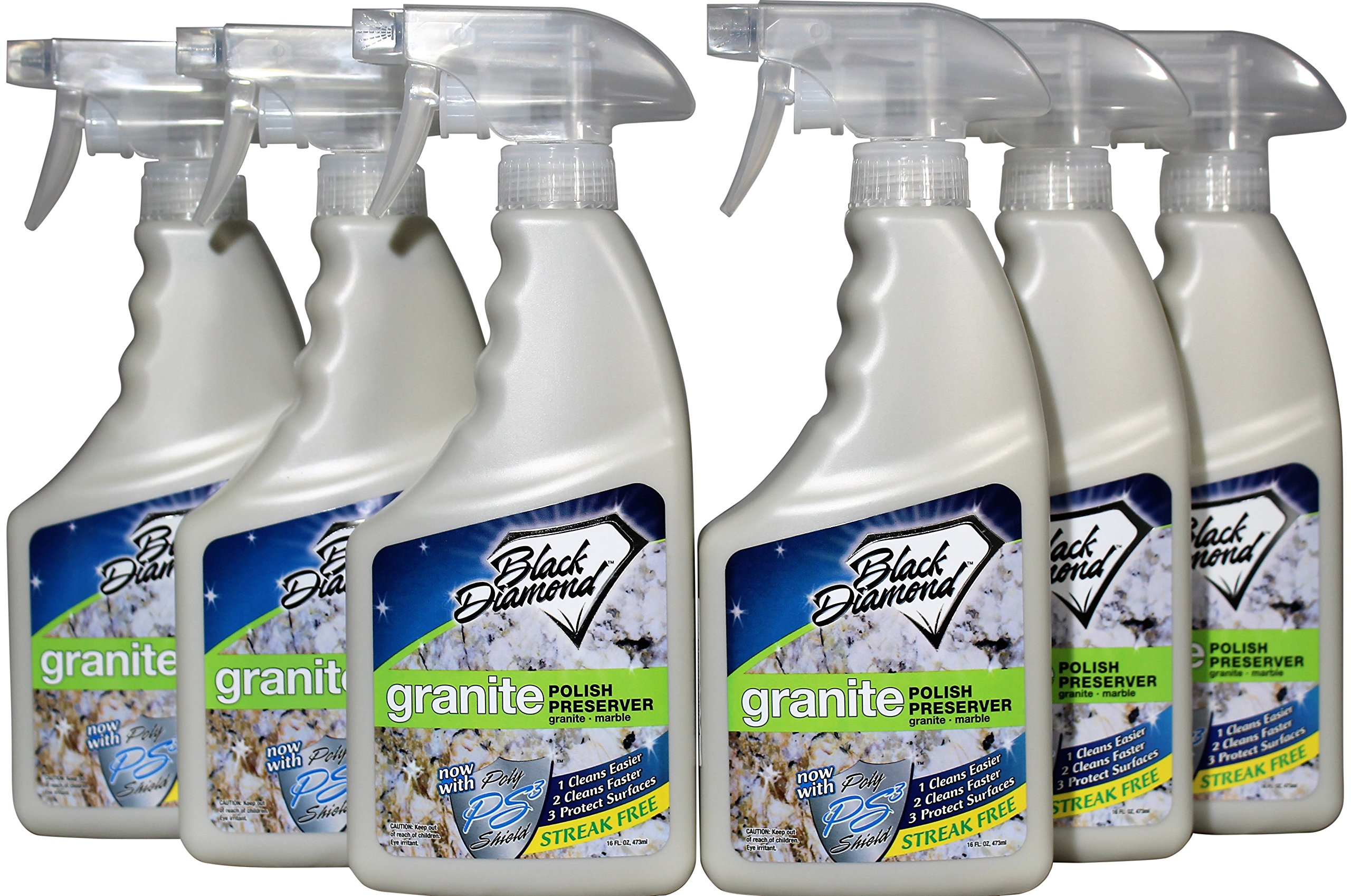 Granite Polish Preserver: Wax & Protectant - Best Protector & Care Product for Easy Maintenance Countertops, Marble - Streak-Free Finish. by Black Diamond Stoneworks