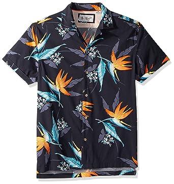 565bba37 Amazon.com: Original Penguin Men's Short Sleeve Tropical Floral Shirt:  Clothing